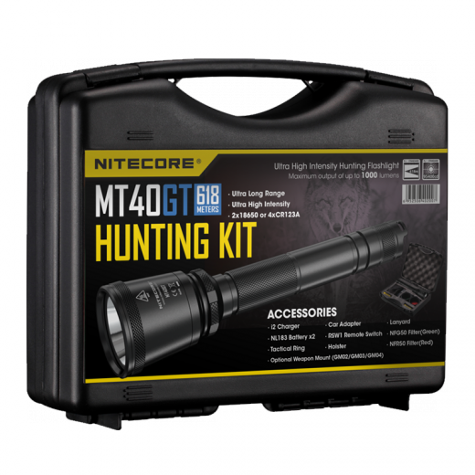 картинка Фонарь NITECORE MT40GT HUNTING KIT от интернет-магазина itsklad.kz