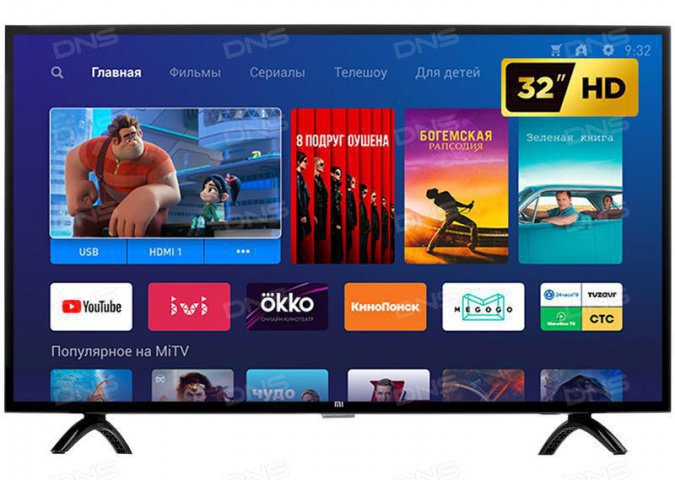 Телевизор Xiaomi MI LED TV 4A 32 Global