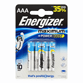 Элемент питания LR03 АAA  Energizer MAXIMUM  Alkaline 4 штуки в блистере